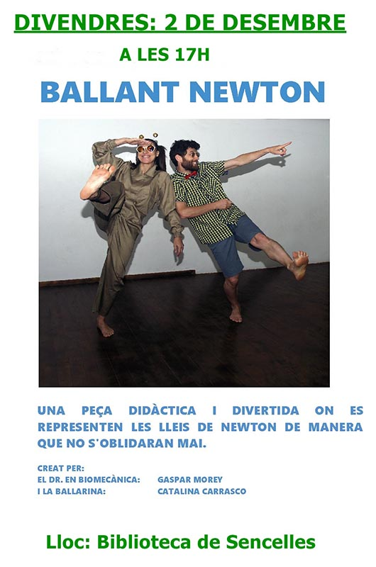 Ballant Newton Flyer biblioteques