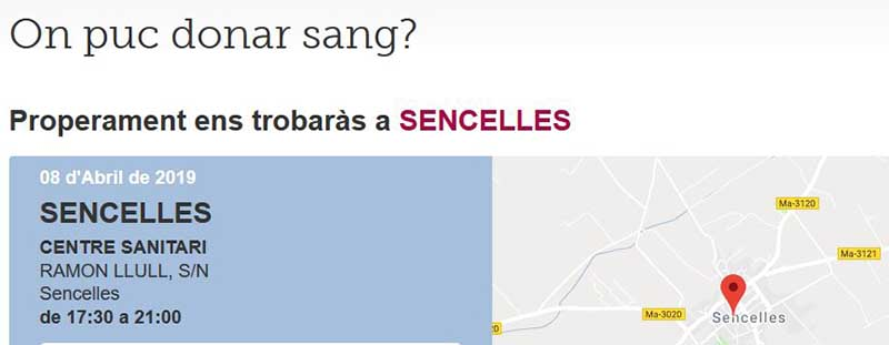 Captura sang sencelles